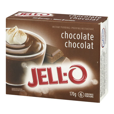 JELL-O Instant Pudding CHOCOLATE