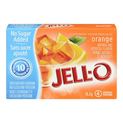 JELL-O Jelly Powder Light ORANGE