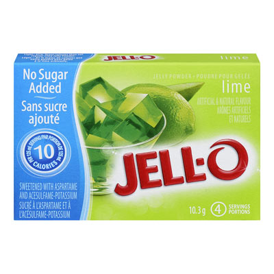 JELL-O Jelly Powder Light  LIME