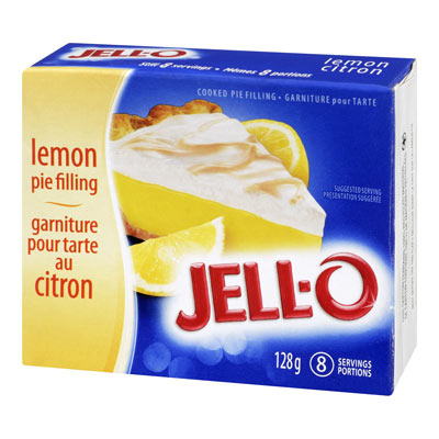 JELL-O PUDDING AND PIE FILLING LEMON EACH