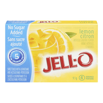 JELL-O Jelly Powder Light  LEMON