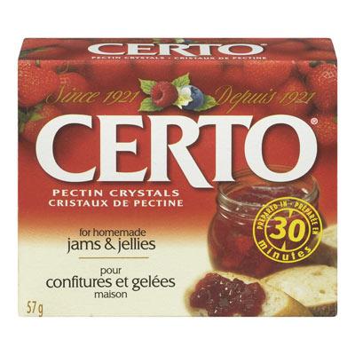 CERTO Pectin Crystals