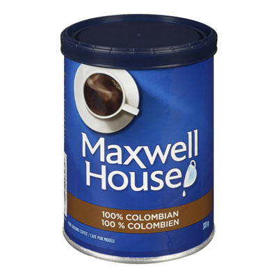 MAXWELL HOUSE 100 % Colombien