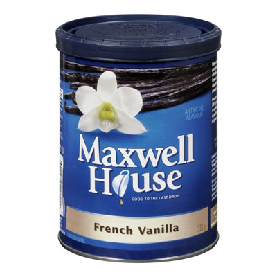 MAXWELL HOUSE FRENCH VANILLA  FLAVOURED GROUND COFFEE