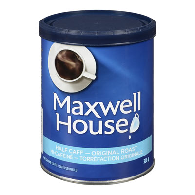 MAXWELL HOUSE Half Caff Ground Coffee