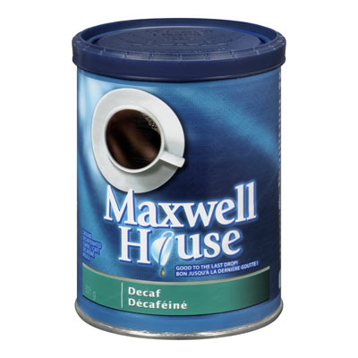 MAXWELL HOUSE Decaf