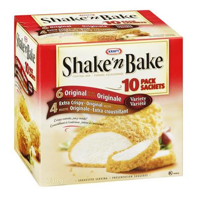 SHAKE'N BAKE Jumbo Crispy/Extra Crispy