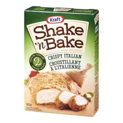SHAKE N' BAKE À l'italienne