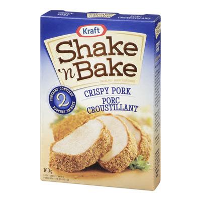 SHAKE N' BAKE Porc croustillant
