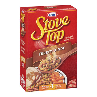 STOVE TOP Stuffing Mix Turkey