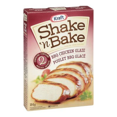 SHAKE N' BAKE Poulet barbecue glacé