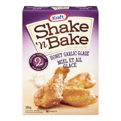 SHAKE N' BAKE Honey Garlic Glaze
