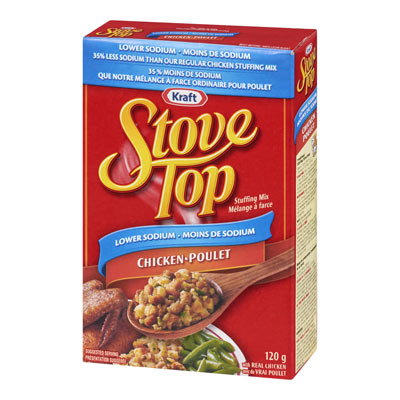 STOVE TOP Stuffnig Mix Lower Sodium