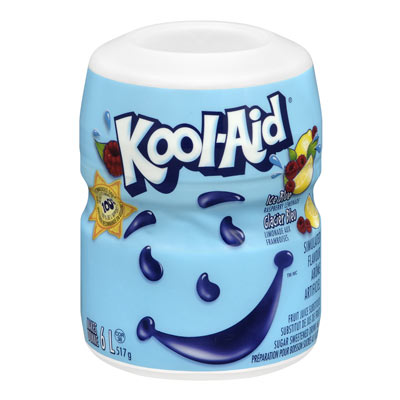 KOOL-AID Sugar Sweetened KOOL-AID Blue Raspberry