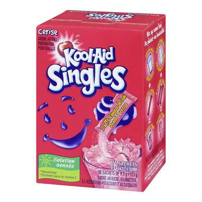 KOOL-AID Singles Cherry