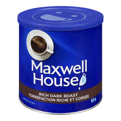 MAXWELL HOUSE Rich Dark Roast Tin