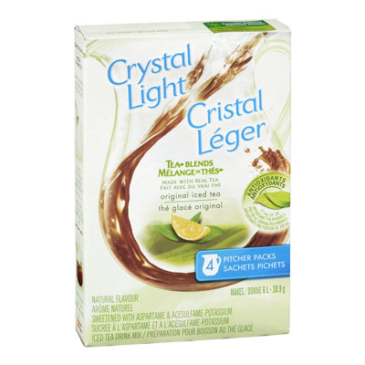 CRYSTAL LIGHT MULTISERVE ICED TEA