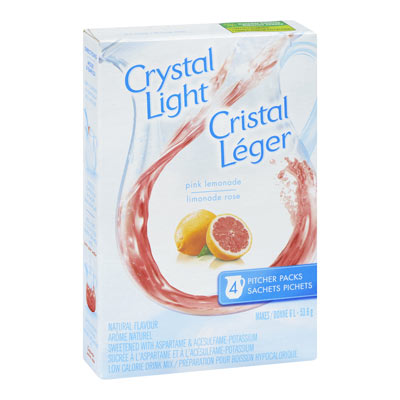 CRYSTAL LIGHT MULTISERVE PINK LEMONADE