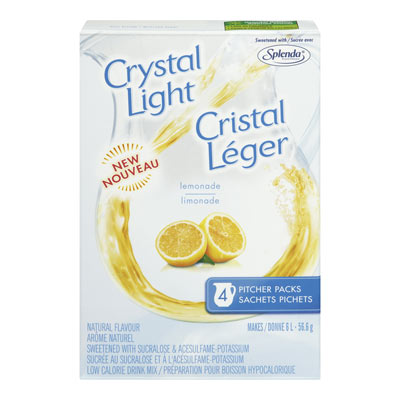 CRYSTAL LIGHT MULTISERVE LEMONADE