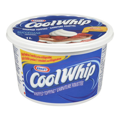 COOL WHIP 1 LT FROZEN WHIPPED TOPPING       1 TUB EACH