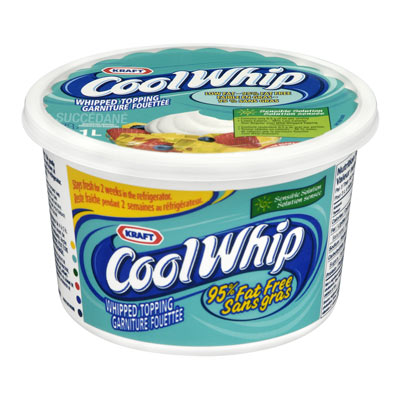 COOL WHIP Ultra faible en gras Garniture