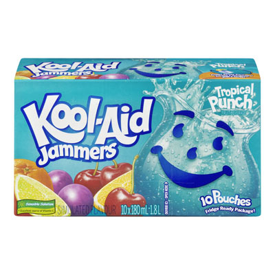 KOOL-AID Jammers Punch tropical