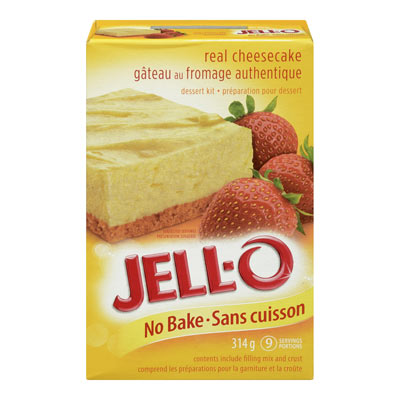 JELL-O No Bake Cheesecake