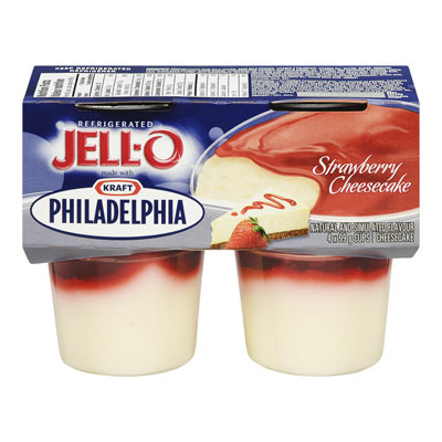 JELL-O Refrigerated Strawberry Cheesecake