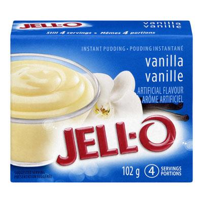 JELL-O Instant Pudding VANILLA
