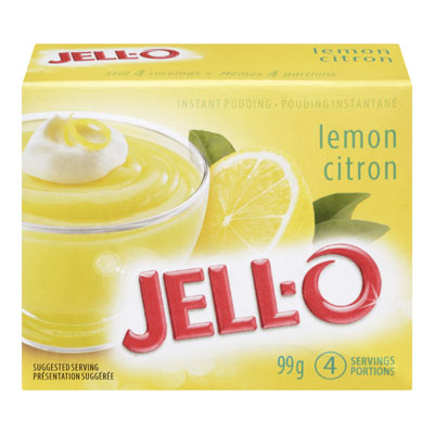 JELL-O LEMON Instant Pudding