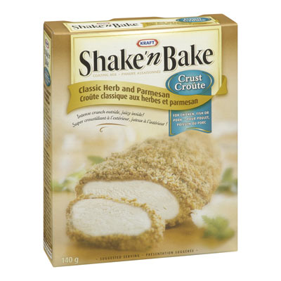 SHAKE'N BAKE Classic Herb & Parmesan Crust