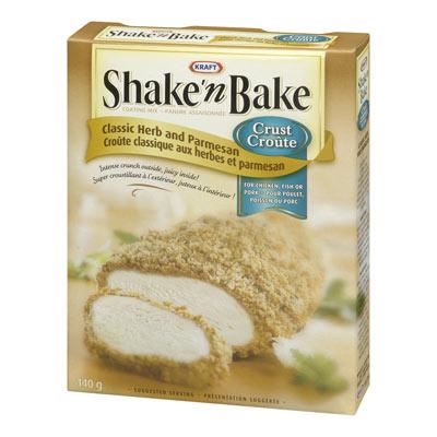 SHAKE'N BAKE Croûte Classique herbes et parmesan