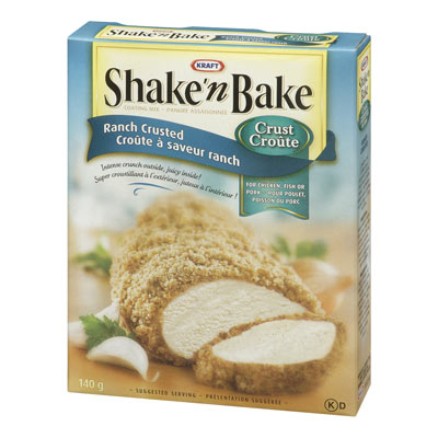 SHAKE'N BAKE Ranch Crusted