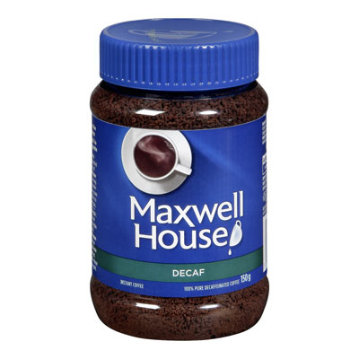 MAXWELL HOUSE Decaf  Instant Coffee