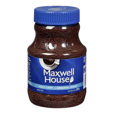 MAXWELL HOUSE Half Caff  Instant Coffee