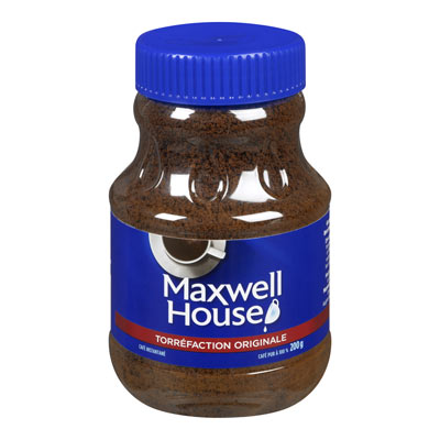 MAXWELL HOUSE Café instantané Torréfaction originale