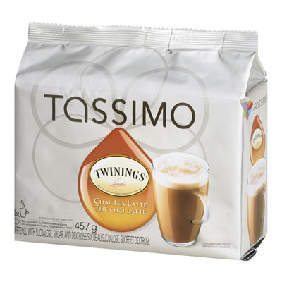 TASSIMO TWININGS Chai Tea Latte