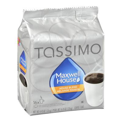TASSIMO MAXWELL HOUSE Blend