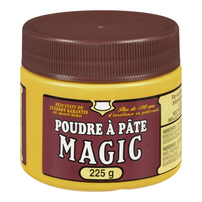 MAGIC 225 GR BAKING POWDER       1 JAR EACH