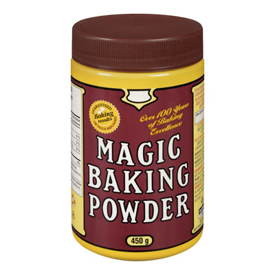 MAGIC 450 GR BAKING POWDER       1 JAR EACH