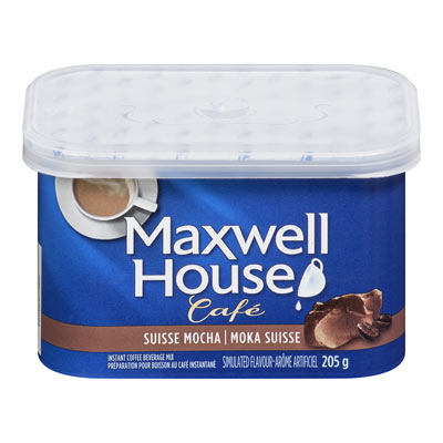 MAXWELL HOUSE Cafe Swiss Mocha  Flavoured Instant Coffee