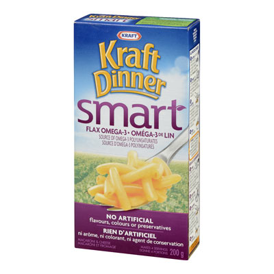KRAFT DINNER Smart Oméga-3 de lin