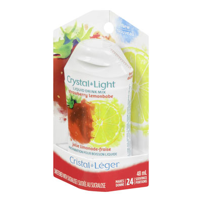 CRYSTAL LIGHT LIQUID DRINK MIX STRAWBERRY LEMONBABE