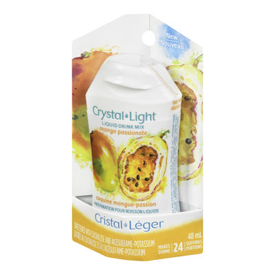 CRYSTAL LIGHT LIQUID DRINK MIX MANGO PASSIONATE