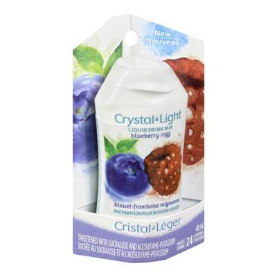 CRYSTAL LIGHT LIQUID DRINK MIX BLUEBERRY RAZZ