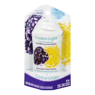 CRYSTAL LIGHT LIQUID DRINK MIX BLACKBERRY LEMONBABE