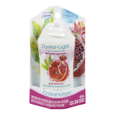 CRYSTAL LIGHT LIQUID DRINK MIX POSH POMEGRANATE