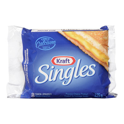 KRAFT SINGLES Thick Cheese Slices