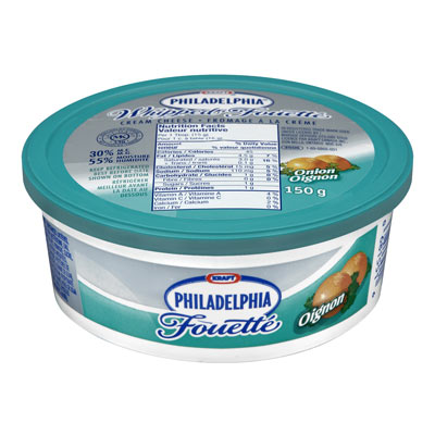 PHILADELPHIA 150 GR CREAM CHEESE-WHIPPED  ONION