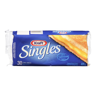 KRAFT SINGLES Cheese Slices